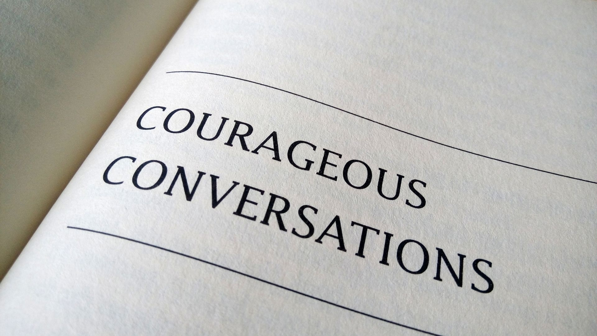 It's time to get comfortable being uncomfortable when having difficult conversations. Lisa McAdams